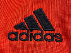 Adidas embroidery